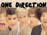 la ventana de Daniela, con una imagen del grupo One Direction, la música que le gusta
